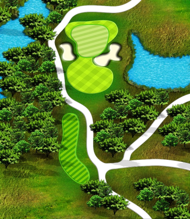 Bridges hole 4